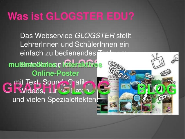 Wie macht man einen GLOG? A Glog is created using a very easy to understand, drag and drop interface that is relevant, enj...