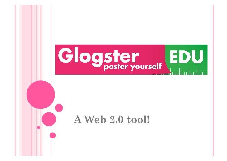 A Web 2.0 tool!