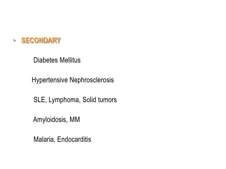Glomerulonephritis1,2
