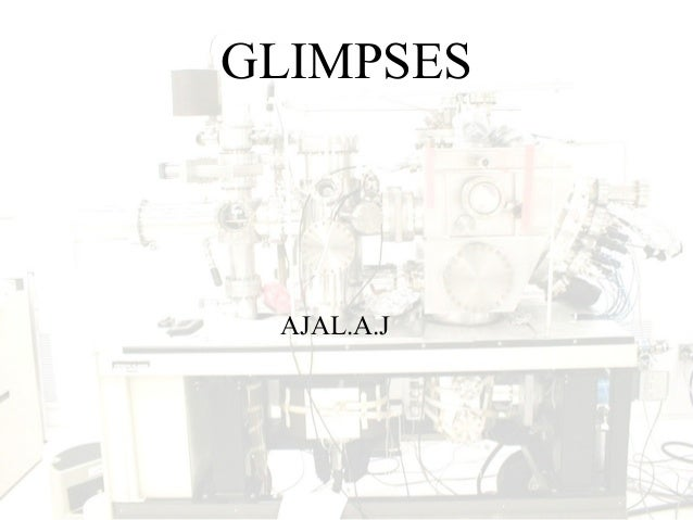 GLIMPSES AJAL.A.J