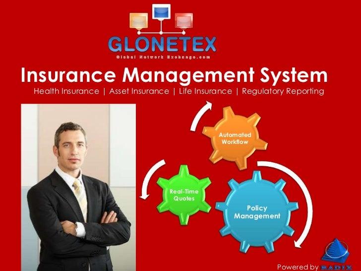Insurance Management System Health Insurance   Asset Insurance   Life Insurance   Regulatory Reporting                    ...