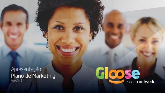 Apresentação Plano de Marketing Versão 1.1