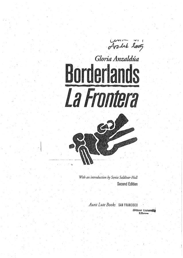 borderlands anzaldua essay