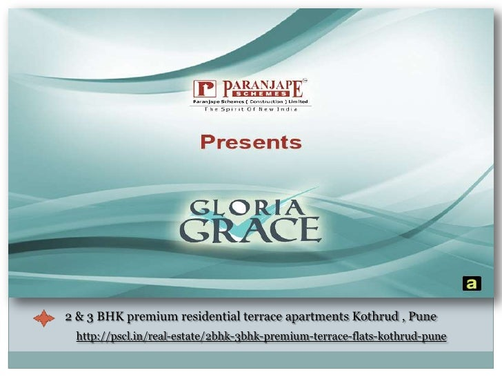 2 & 3 BHK premium residential terrace apartments Kothrud , Pune <br />http://pscl.in/real-estate/2bhk-3bhk-premium-terrace...
