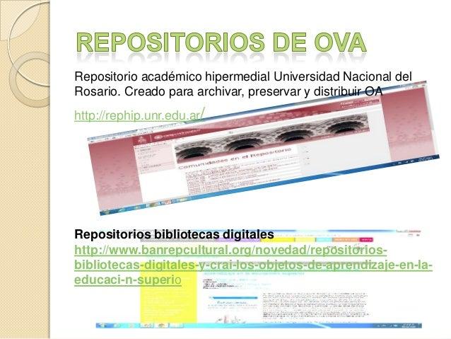 Repositorio académico hipermedial Universidad Nacional del Rosario. Creado para archivar, preservar y distribuir OA  http:...