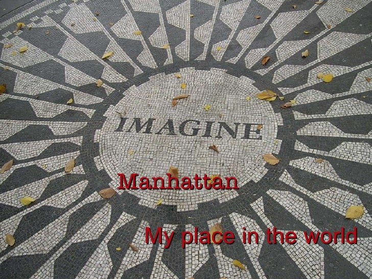 Manhattan   My place in the world