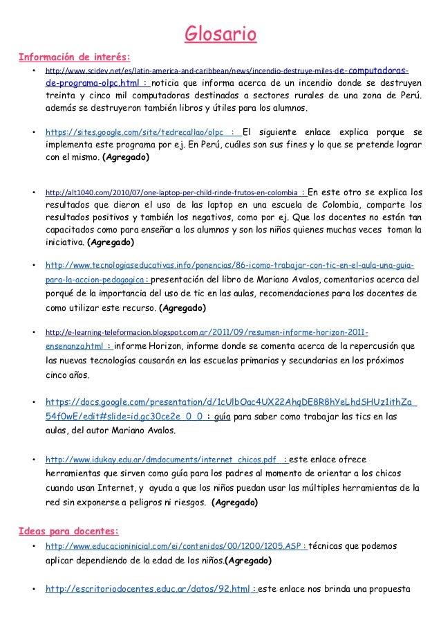 GlosarioInformación de interés:  •   http://www.scidev.net/es/latin-america-and-caribbean/news/incendio-destruye-miles-d e...