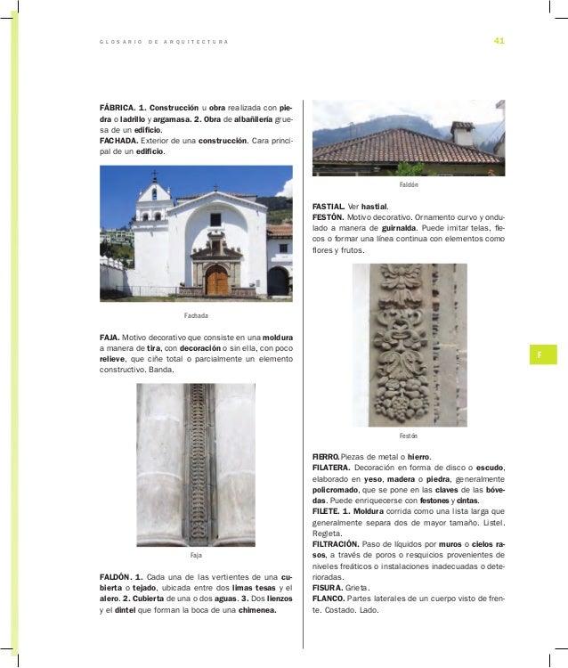Glosario de arquitectura for Definicion de estilo en arquitectura