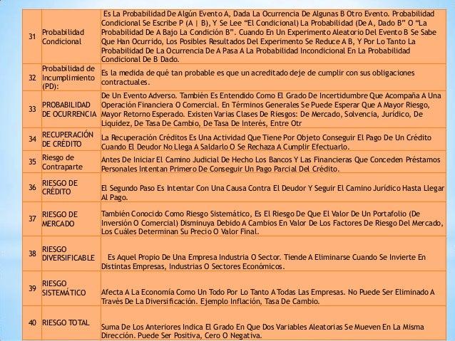 (ES) – Glosario de términos, definiciones | Banco de México