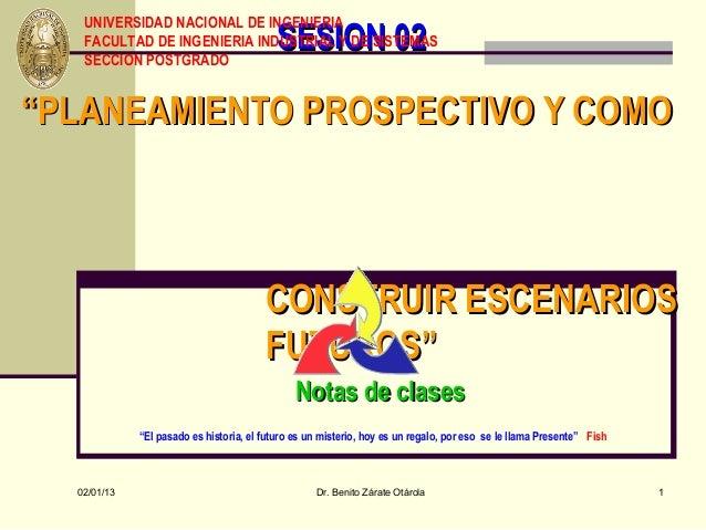 UNIVERSIDAD NACIONAL DE INGENIERIA                                           SESION 02   FACULTAD DE INGENIERIA INDUSTRIAL...