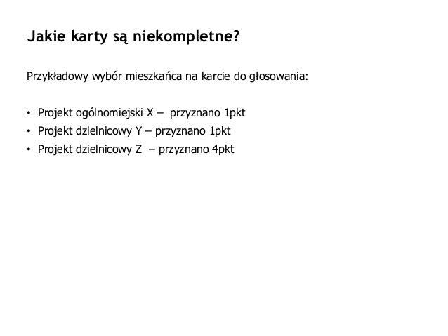 Błędy w głosowaniu BO 2018 w Gdańsku Slide 3