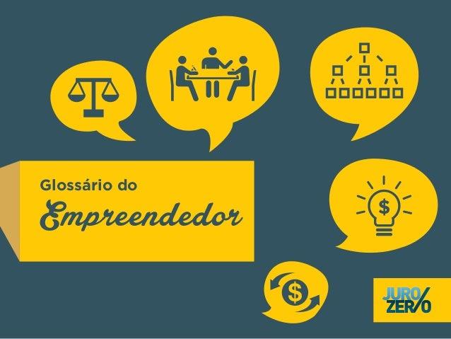 Glossário do Empreendedor