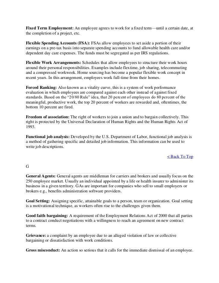 the human resource glossary Glossary the following terms are used throughout the staff guide: staff any person who holds a university office or post and has a university contract of employment institution all academic and academic-related departments, including administrative units, libraries, museums and any other.