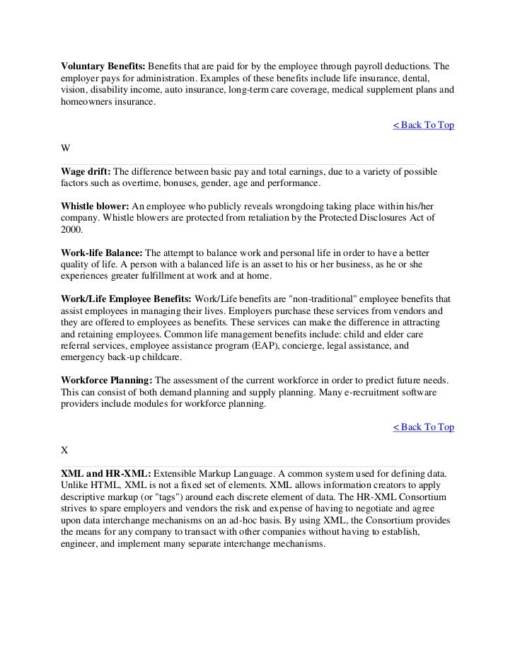 Glossary human resource management – Long Term Disability Appeal Letter