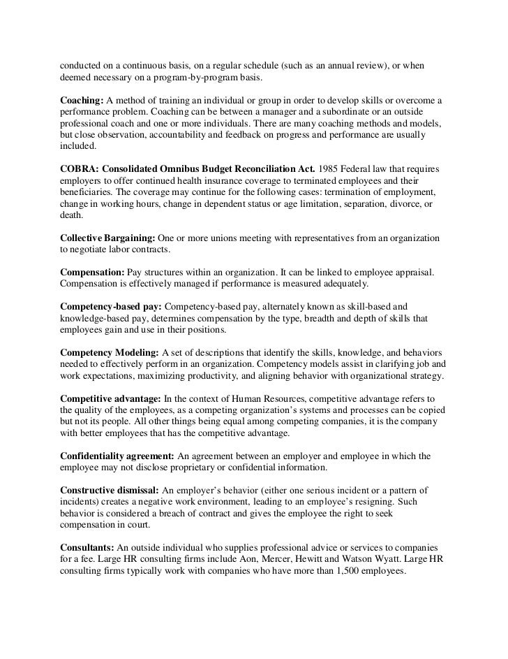 Confidentiality And Nondisclosure Agreement General Template Hr