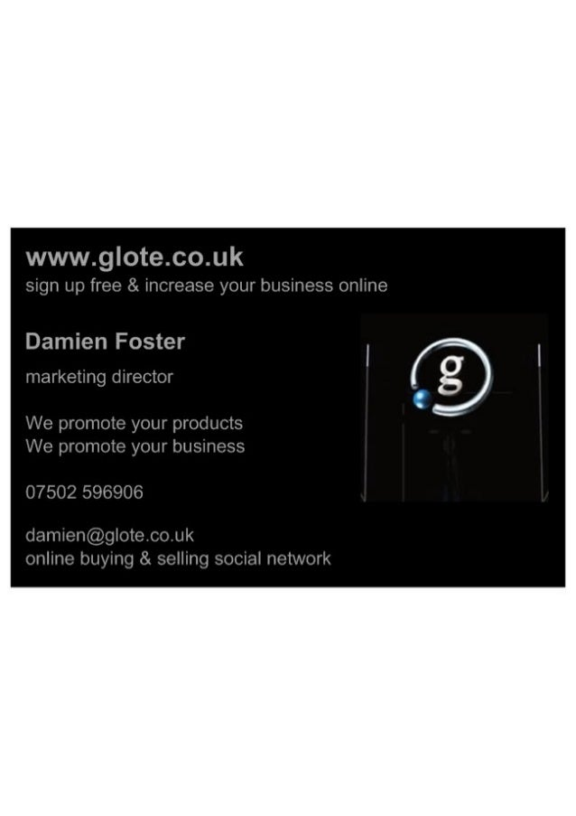 Glote a online buying & selling social network