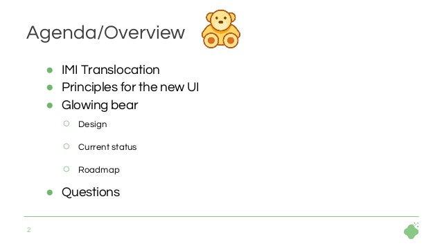 Glowing bear  Slide 2