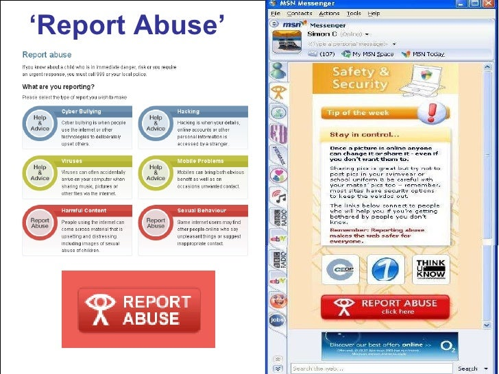 ' Report Abuse'