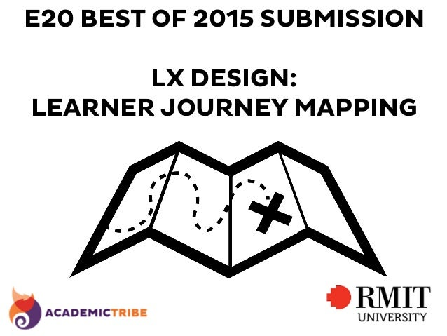 E20 BEST OF 2015 SUBMISSION LX DESIGN: LEARNER JOURNEY MAPPING