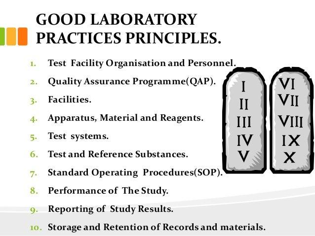 PRINCIPLE OF GLP PDF DOWNLOAD