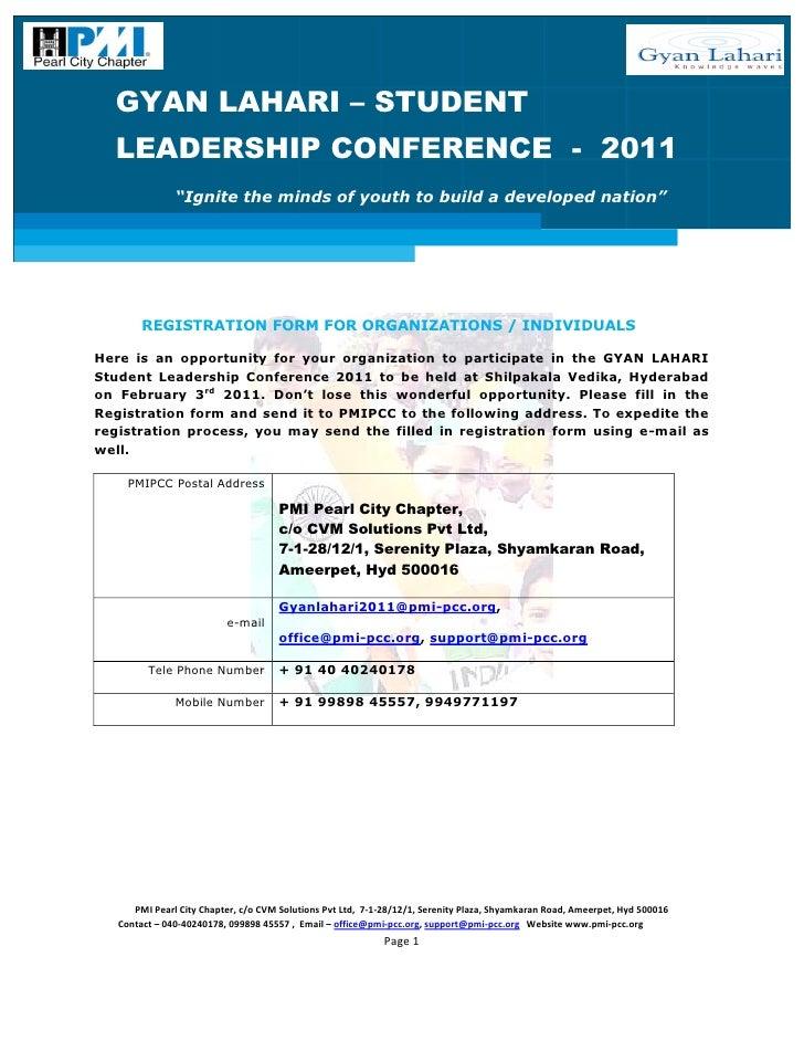 Gl slc 2011_Organizations Registration Form