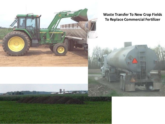 Waste Transfer To New Crop Fields To Replace Commercial Fertilizer