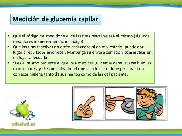 Recomendaciones para el control de la glucemia en el domicilio