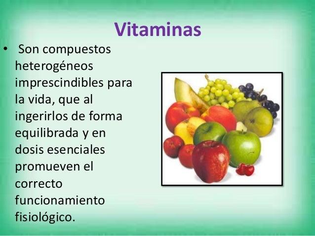 Clasificación Vitaminas Liposolubles • Las vitaminas liposolubles, A, D, E y K, se consumen junto con alimentos que contie...