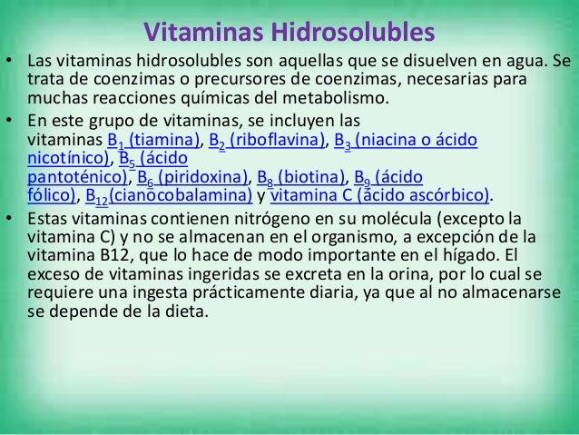 • En este grupo de vitaminas, se incluyen las vitaminas B1 (tiamina), B2 (riboflavina), B3 (niacina o ácido nicotínico), B...