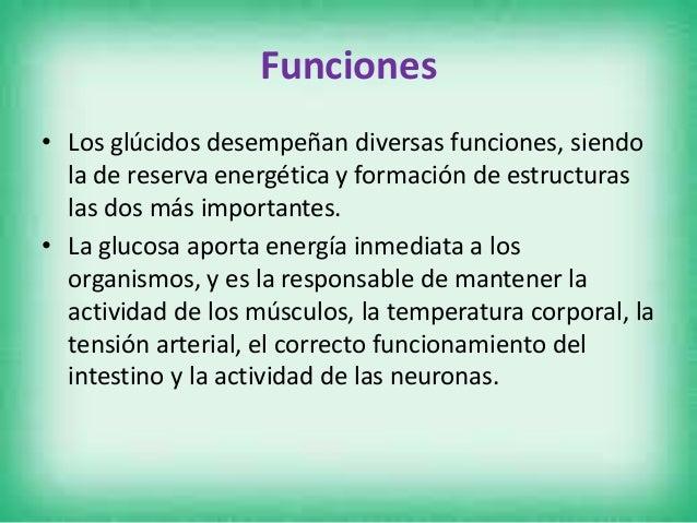 Tipos de Glúcidos Monosacáridos.- Son la unidad más pequeña de los azúcares. Actúan como combustibles biológicos, aportand...