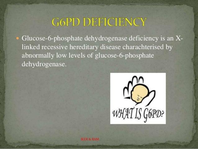 Phosphate dehydrogenase deficiency disease essay