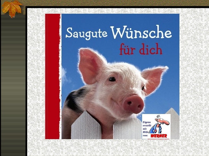 GlГјcksschwein Bedeutung