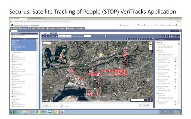 18 Securus: Satellite Tracking of People (STOP) VeriTracks Application