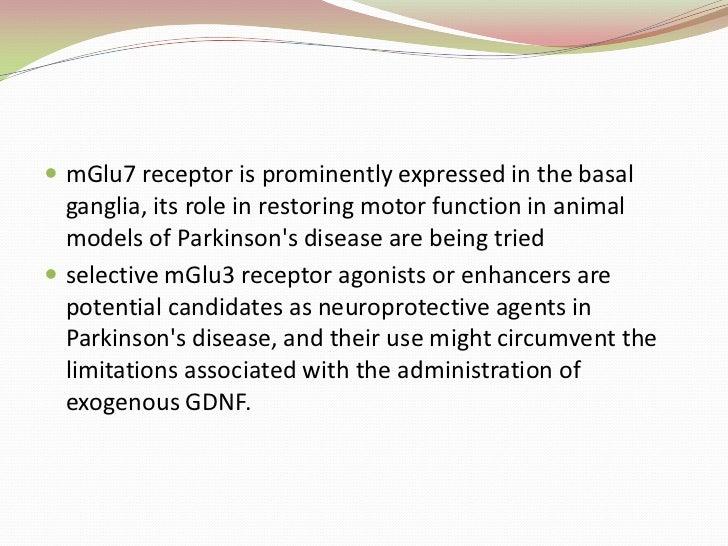 Positive modulator enhances response to glutamate