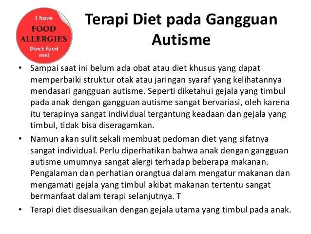 Hubungan Terapi Diet Bebas Gluten dan Kasein dengan Perkembangan Anak Autisme