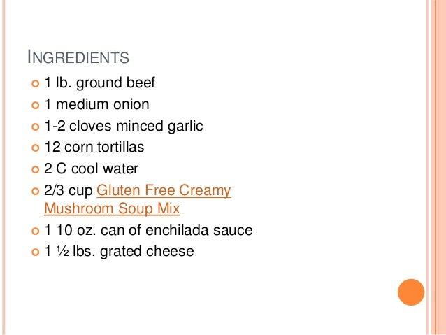 Gluten Free Enchilada Casserol Slide 2