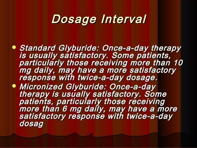 Diabeta And Micronase