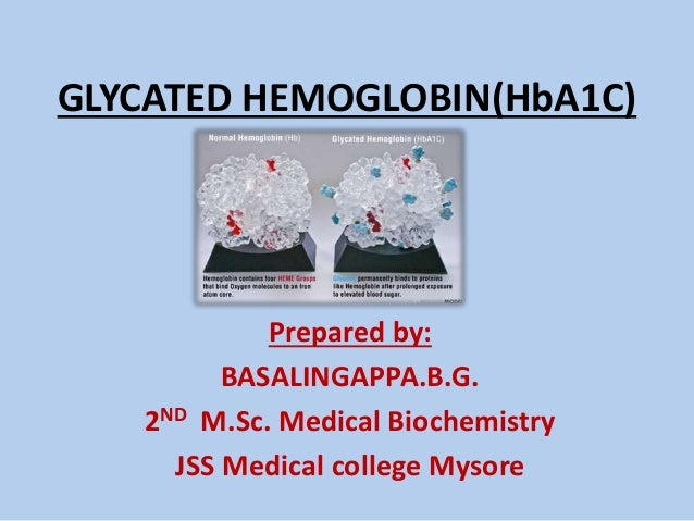 glycated haemoglobin ppt by basalingappa bg