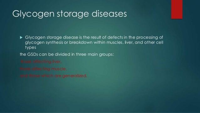 Glycogen storage diseases Slide 3