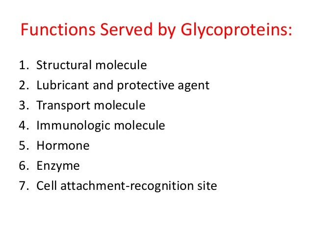 glycoproteins