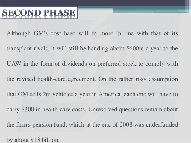 GM emerges from bankruptcy, it will have shed some of its burdens, but the damage done by decades of mismanagement and uni...