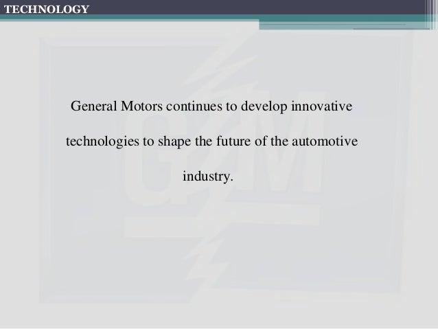 General Motors SWOT Analysis