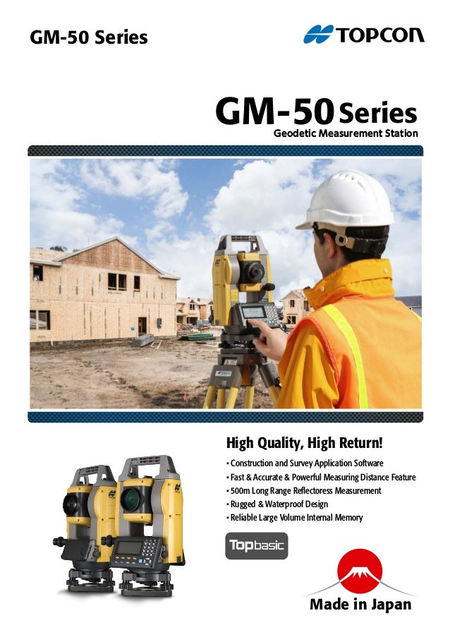 • Construction and Survey Application Software • Fast & Accurate & Powerful Measuring Distance Feature • 500m Long Range R...