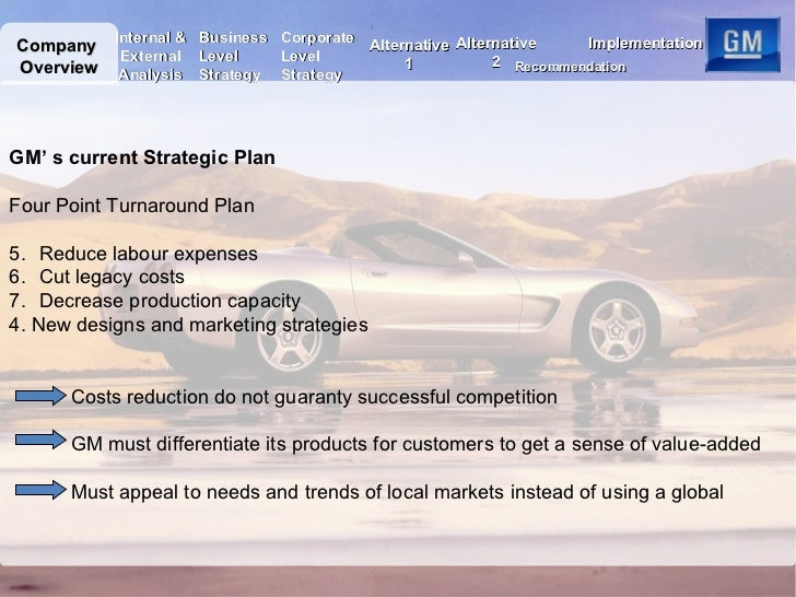 General Motors Case Solution & Answer