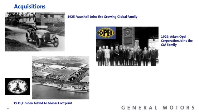 General Motors History Facts And Figures