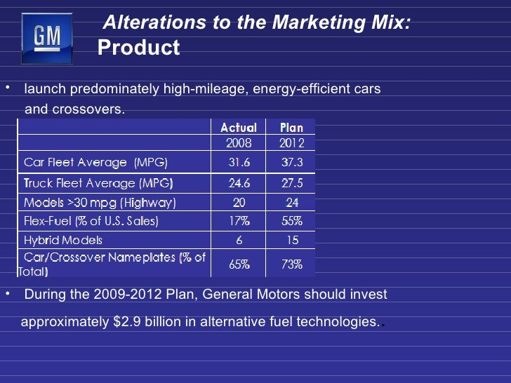 Gm presentation3 for Mercedes benz marketing mix