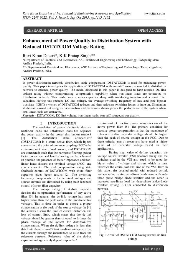 Ravi Kiran Dasari et al Int. Journal of Engineering Research and Application ISSN: 2248-9622, Vol. 3, Issue 5, Sep-Oct 201...