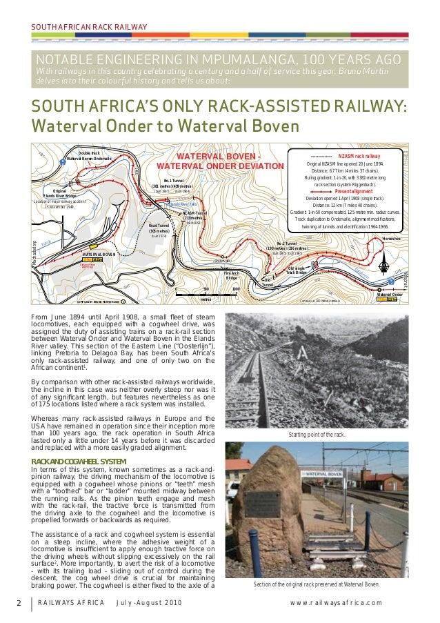 Railways Africa July/Aug 2010