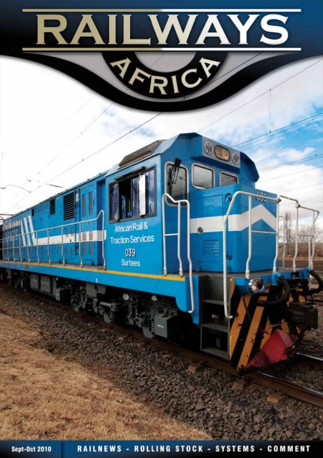 RAILWAYS | HARBOURS | MINING | INTERMODAL | COMMUTER WWW.RAILWAYSANDHARBOURS.COM For further information, rates and bookin...