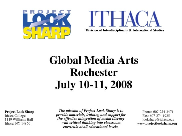 The mission of Project Look Sharp is to provide materials, training and support for the effective integration of media lit...